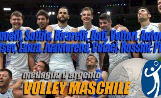 rio 2016 volley argento