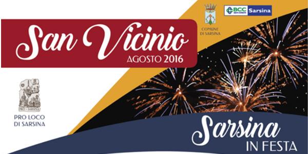 Sarsina: per San Vicinio una settimana di festa dal 19 al 28 agosto 2016 – programma