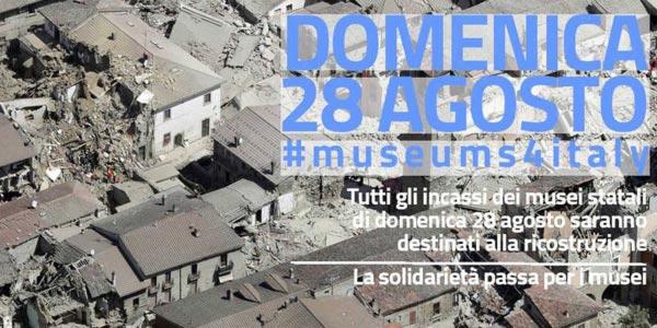 terremoto centro italia musei