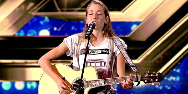 X Factor 10: Caterina Cropelli passa le Audizioni – video