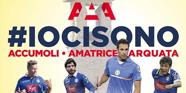 Nazionale Cantanti: partita a Rieti per i terremotati il 4 ottobre – biglietti