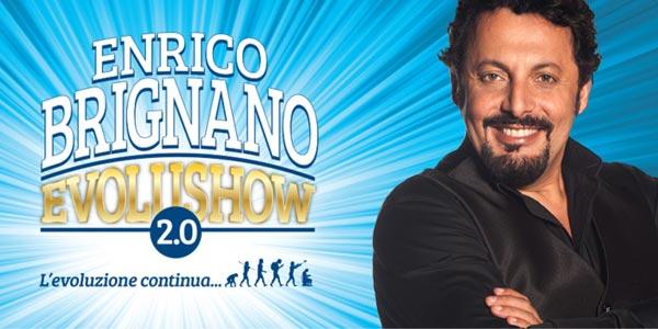 Stasera in tv, Enrico Brignano in Evolushow 2.0 su Canale 5