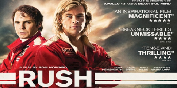 Stasera in tv film Rush