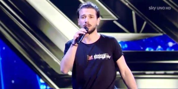 X Factor 10 video esibizione di Giovanni Diana Audizioni