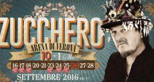 Zucchero concerti Arena di Verona come arrivare orari info