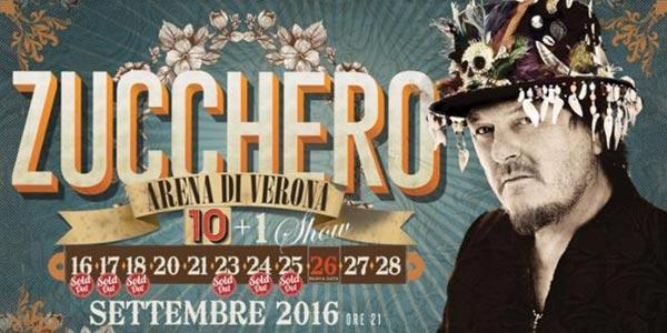 Zucchero concerti Arena di Verona: come arrivare, orari e info utili