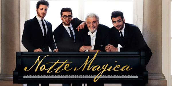 Il Volo: il concerto Tributo ai Tre Tenori stasera 20 settembre 2016 su Canale 5