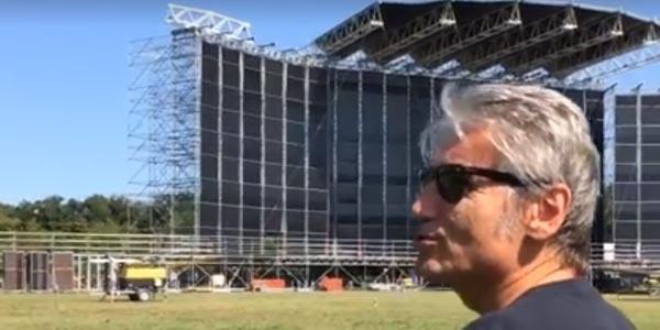 Ligabue svela il palco del Liga Rock Park e la location in anteprima – video