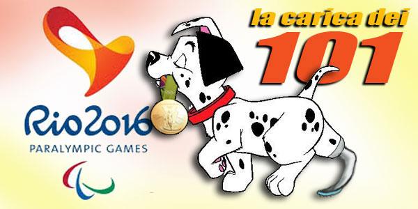 Paralimpiadi Rio 2016: la carica dei 101 atleti azzurri