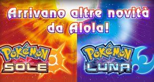pokemon sole e luna novità