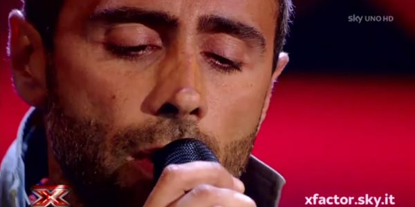 x factor 10 audizioni armando pavone video