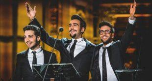 Il Volo scaletta concerto stasera su Canale 5