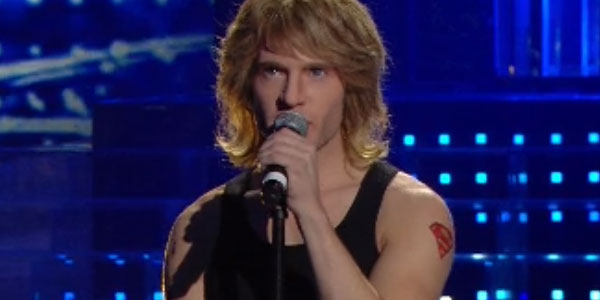 Tale e Quale Show: Davide Merlini imita Jon Bon Jovi – video