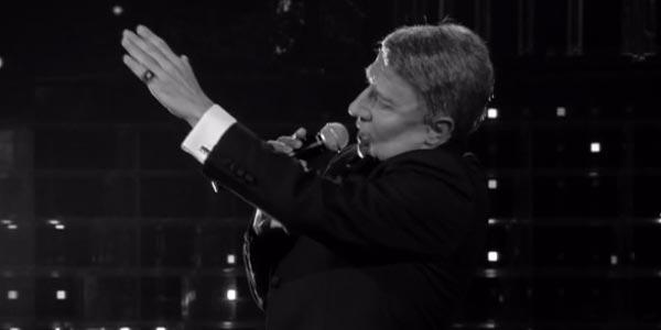 Tale e Quale Show: Manlio Dovì diventa Frank Sinatra – video