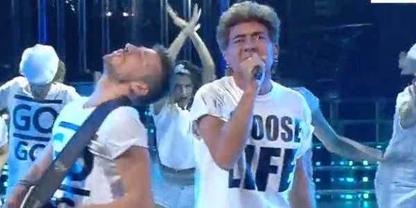Tale e Quale Show: Sergio Assisi diventa George Michael – video