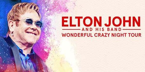 Elton John concerti 2017 biglietti e prezzi