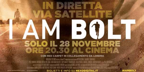 I am Bolt: al cinema per una notte il film sull'atleta – coupon sconto