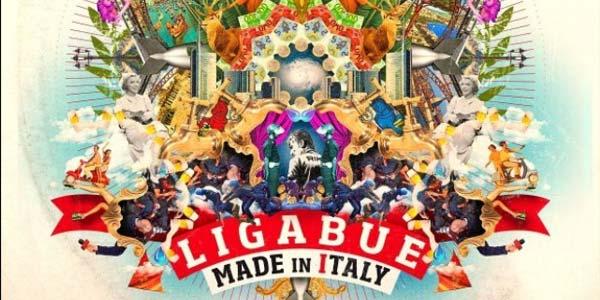 Ligabue audio album Made In Italy
