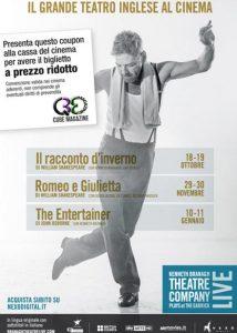 Romeo e Giulietta Kenneth Branagh coupon sconto