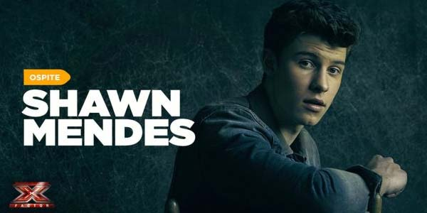 Shawn Mendes ospite X Factor 10 video