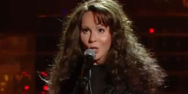 Tale e Quale Show: Bianca Atzei imita Mariah Carey – video