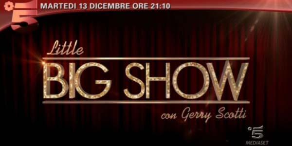 Little Big Show: da stasera il nuovo talent per bambini con Gerry Scotti