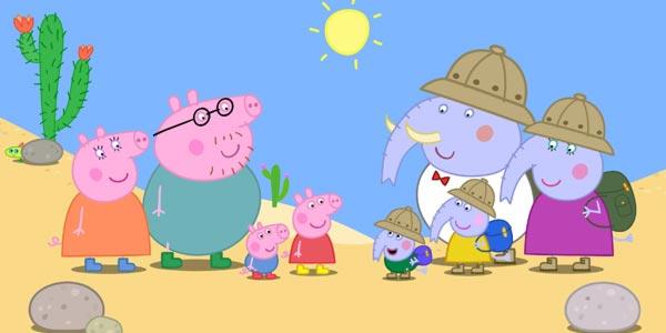 Peppa Pig in giro per il mondo nei cinema: trama e trailer