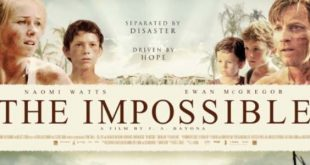 The Impossible film stasera in tv trama