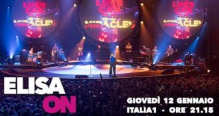 Elisa On concerto Italia 1 scaletta
