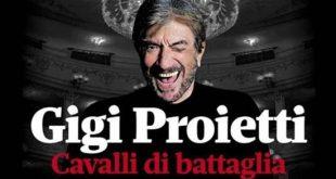 Gigi Proietti Cavalli Di Battaglia ospiti 14 gennaio 2017