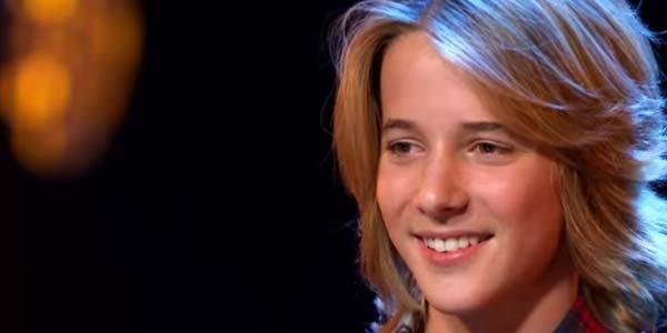 Italia's Got Talent 2017: Matteo Markus Bok canta il divorzio dei genitori – video