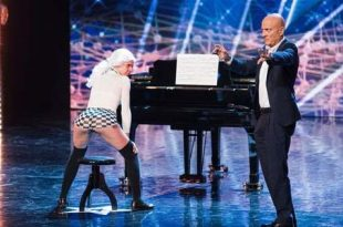 Italias Got Talent 2017 twerking Mozart video