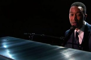John Legend video esibizione Oscar 2017