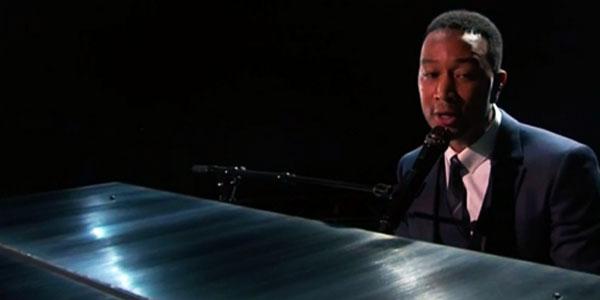 John Legend video esibizione Oscar 2017