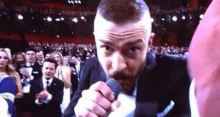 Justin Timberlake video esibizione Oscar 2017