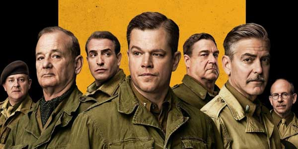Monuments Men film stasera in tv Rete 4 trama