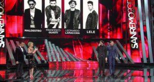 Sanremo 2017 cronaca terza serata Campioni eliminati ospiti