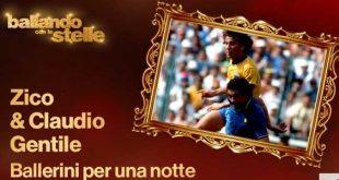 Ballando Con Le Stelle 2017 anticipazioni 25 marzo ospiti Zico Claudio Gentile