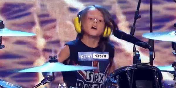 Italia's Got Talent 2017: Edoardo, batterista di 7 anni – video