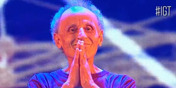 Italia's Got Talent 2017: il maestro di Yoga a 83 anni – video