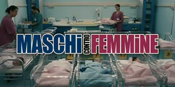 Maschi contro Femmine, film stasera in tv su Rai 1: trama