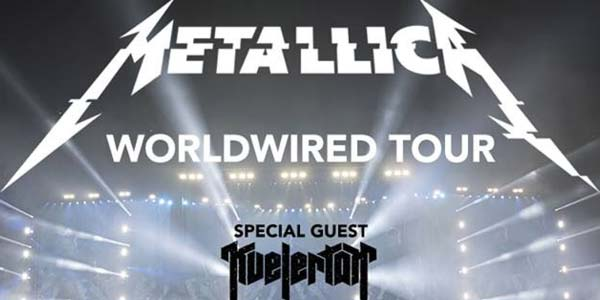 Metallica: tris di concerti a Torino e Bologna in febbraio 2018 – biglietti
