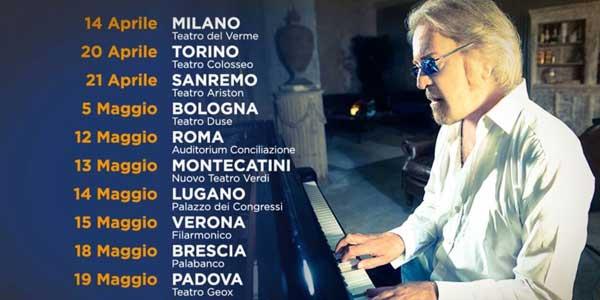 Umberto Tozzi festeggia 40 Anni Che Ti Amo con Anastacia e un tour – biglietti