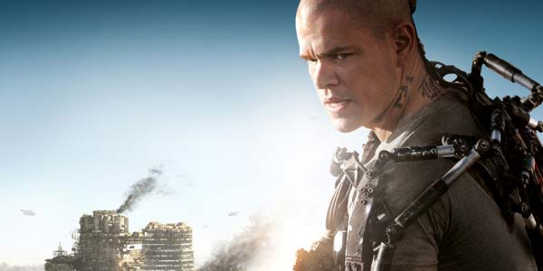 Elysium, film con Matt Damon stasera in tv su Rai 2: trama