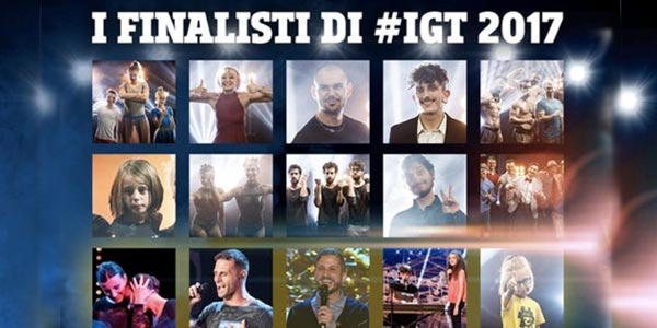 Italia's Got Talent 2017: Chi sono i finalisti? ecco i nomi e il video