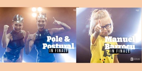 Italia's Got Talent 2017: in finale Le Pole & Postural e il piccolo Manuel – Video