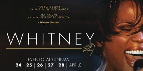 Whitney Houston: al cinema dal 24 aprile il documentario sulla vita della star
