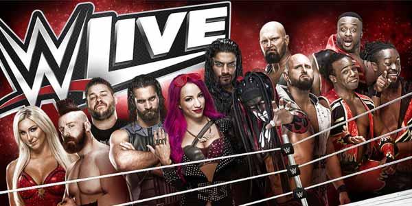 WWE Live: le superstar del wrestling a Roma e Bologna in maggio 2017 – biglietti