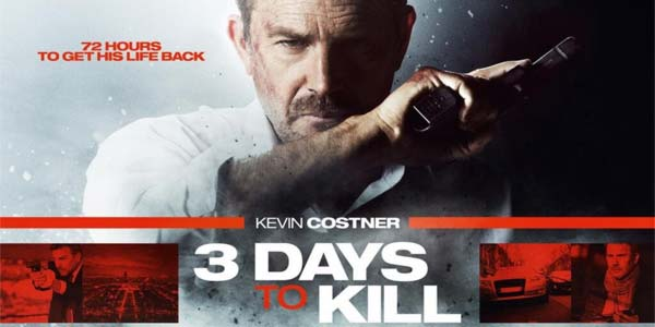 3 Days To Kill, film stasera in tv su Rai 2: trama