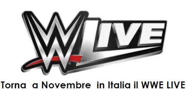 Biglietti WWE Live a Milano, Padova e Firenze in novembre 2017